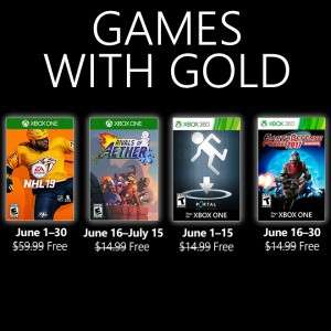 Xbox Games with Gold (June 2019) - NHL 19, Rivals of Aether, Portal: Still Alive, Earth Defense Force 2017