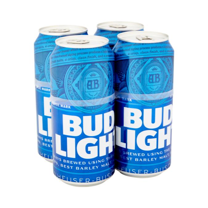 Bud Light 4-pack - £2 instore @ Premier Stores