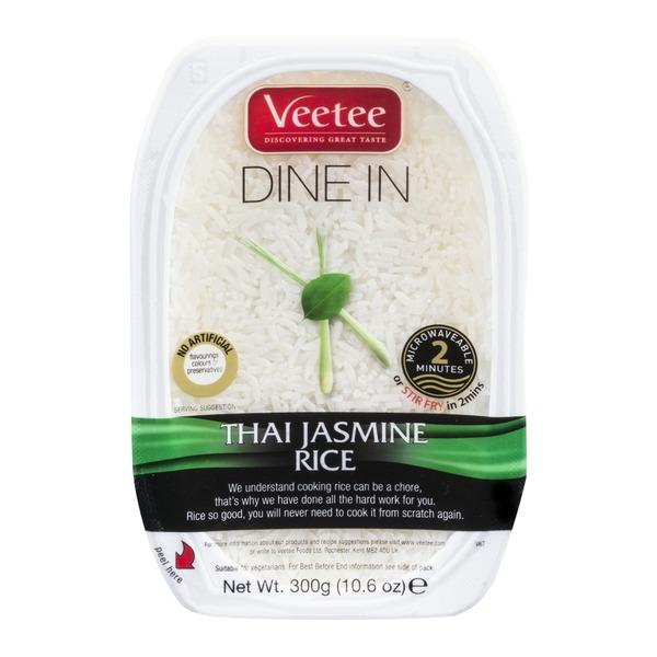 Veetee 300g Thai Jasmine rice - 29p instore @ Aldi