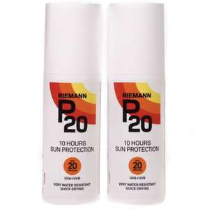 Riemann P20 SPF20 - 2x 100ml Lotion £14.84 delivered @ Hogies Online