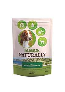 Iams Naturals New Zealand Lamb and Rice Adult Dog Rich Food, 800 g - Pack of 4  £3.99 + £4.49 delivery Non Prime @ Amazon