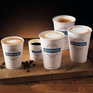Free Hot Drink via Greggs rewards App  (Account specific)