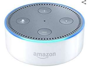 Certified Refurbished Amazon Echo Dot (Previous Generation - 2nd Gen), White £19.99 (Prime) / £24.48 (non Prime) @ Amazon