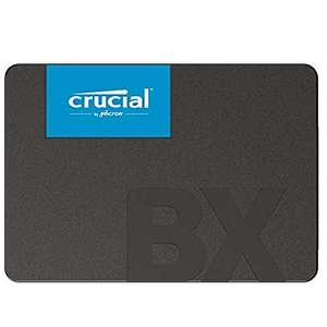 Crucial BX500 CT240BX500SSD1(Z) 240 GB Internal SSD (3D NAND, SATA, 2.5-Inch) £27.93 Amazon