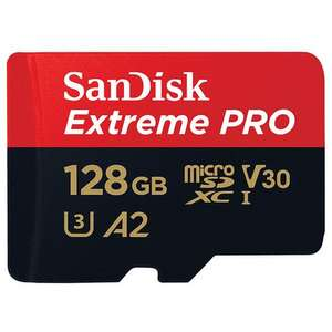 SanDisk 128GB Extreme Pro V30 Micro SD Card (SDXC) 170MB/s