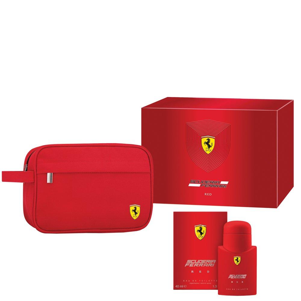 Fendi Ferrari Scuderia Red Eau De Toilette 40ml & Pouch Gift Set For Him NOW £15.42 (Prime) / £19.91 (non Prime) at Amazon