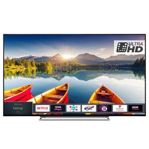 """Toshiba 49"""" 4K Smart TV - HDR10 / Dolby Vision / Alexa compatible / Freeview Play £299 Delivered @ AO - Model 49U5863DB"""