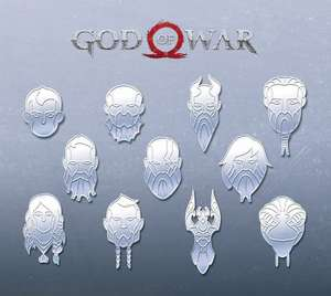 Free God of War avatars available only to those who earned the game's Platinum trophy @ PSN