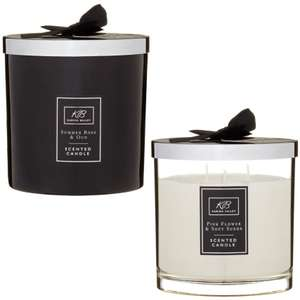 Karina Bailey Scented Candles (Various Sets) £1 @ B&M (In-Store)