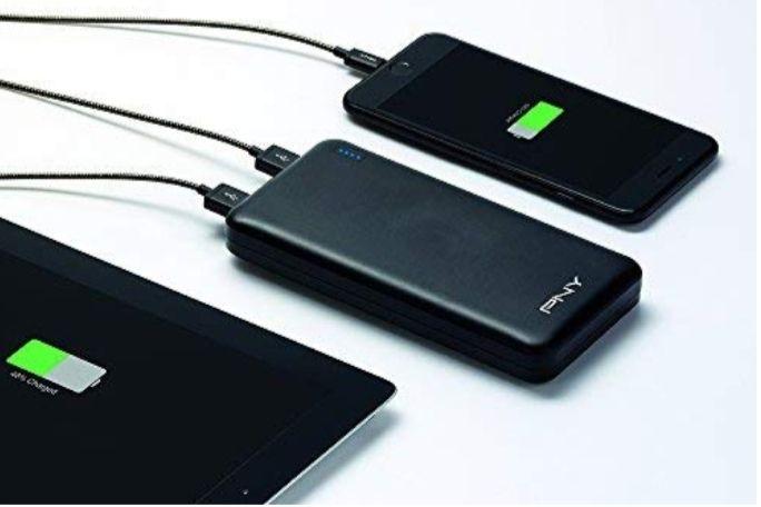 PNY 20000 mAh PowerPack Slim Power bank £19.21 [£23.70 Non Prime] @ Amazon