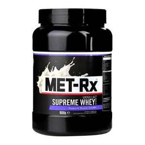 Met-Rx Supreme Whey... £7.99 for 908 grams - rrp £34.99 @ Holland & Barrett