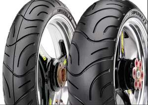 Maxxis Supermaxx Touring Tyre Pair 120/70 ZR17 | 180/55 ZR17 - £99.99 @ M&P Direct