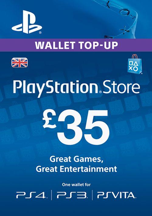 Carte réseau Playstation - 35 £ (PS Vita / PS3 / PS4) 29,99 £ @ CDKeys