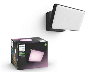 Philips Hue White and Colour Ambiance LED Discover Black Garden Floodlight £125.99 @ Amazon