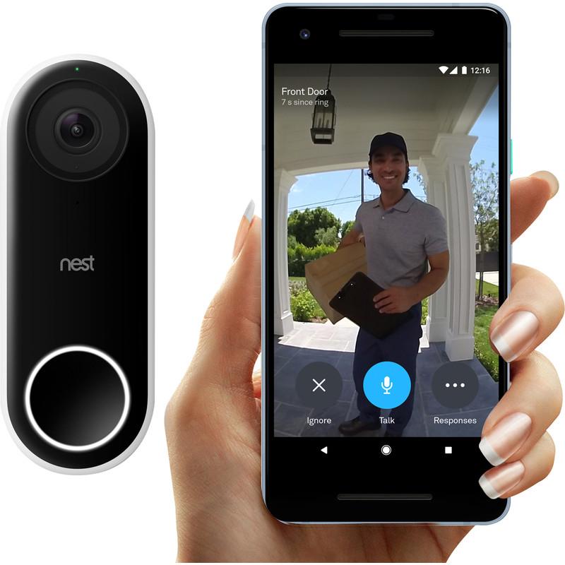 Nest Hello Video Doorbell £145 with code @ Toolstation