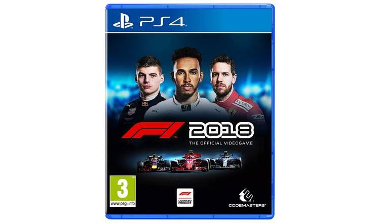 F1 2018 (PS4) £12.99 @ Argos