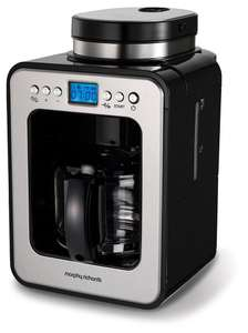 Morphy Richards 162100 Bean to Cup Grind and Brew Machine Coffee Maker - £54.99 @ Amazon