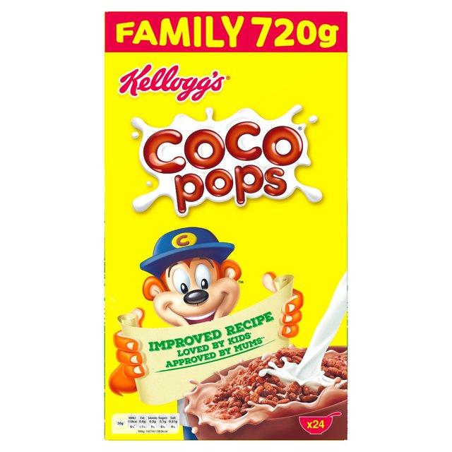 Kellogg's coco pops 720g - £2.50 @ Asda
