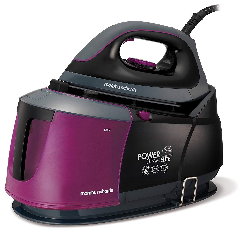 Morphy Richards Steam Generator Iron Power Steam Elite Auto Clean and Safety Lock 332012 Purple/Black Steam - £99.99 @ Amazon