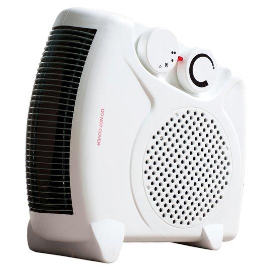 Fine Elements 2000W Flat Fan Heater for £3.75 @ Tesco