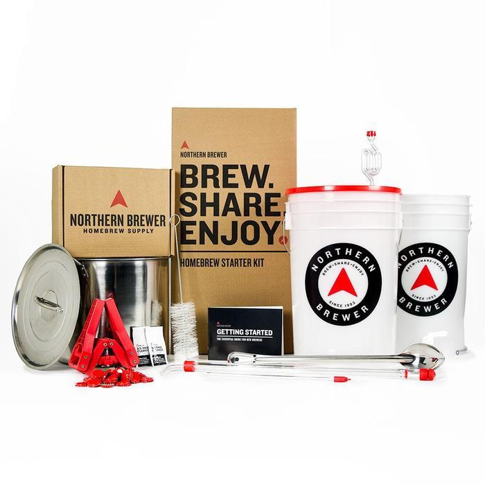 Northern Brewer Starter Kit (40 pint Amber Ale) £50 @ Beerhawk