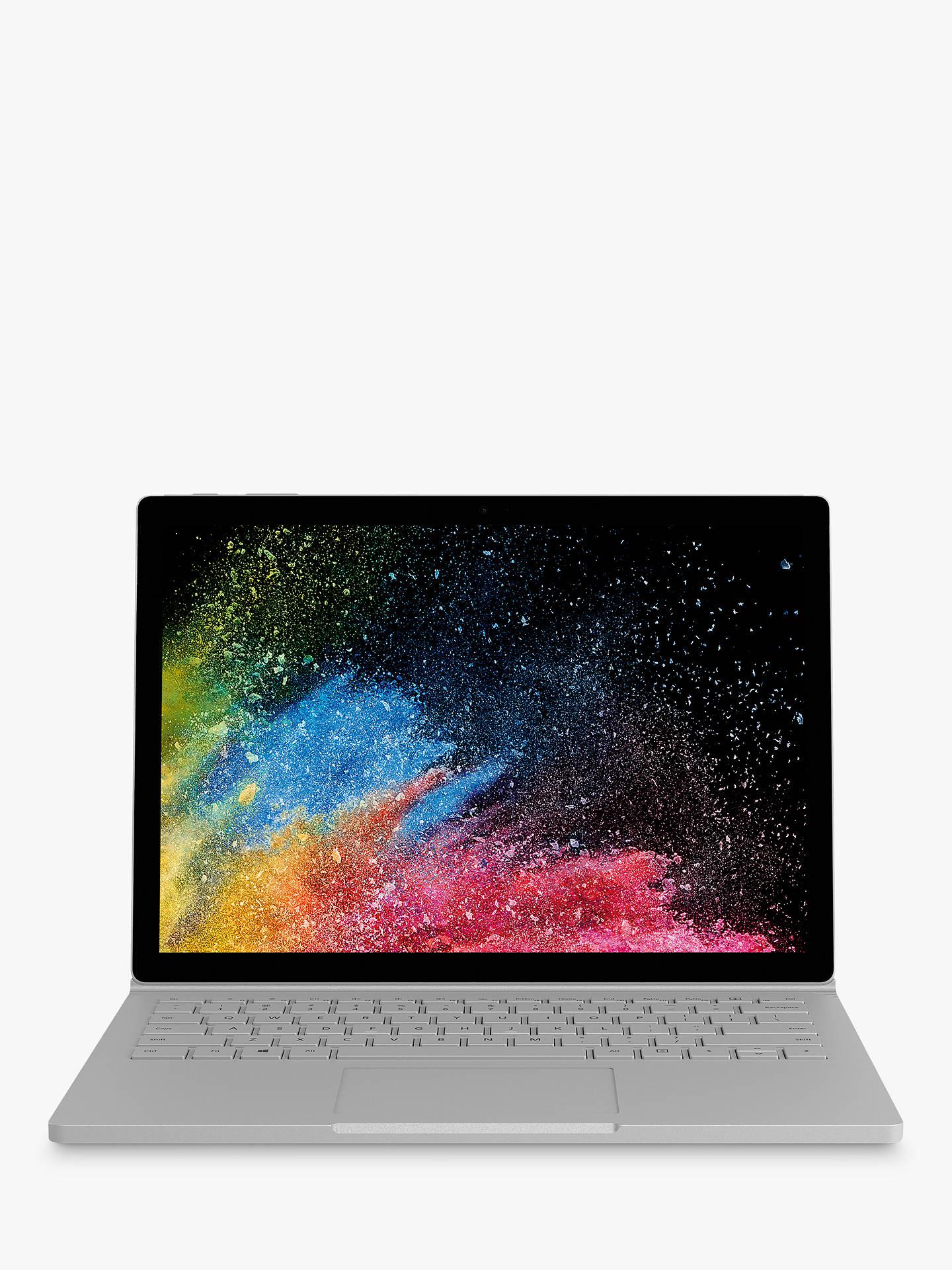 Microsoft Surface Book 2 - i5 8350U / 256GB / 8GB RAM (2019 Refresh Model) - £1,299 @ John Lewis & Partners