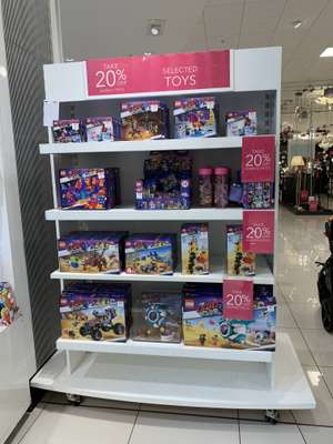 20% off all Lego movie 2 kits - Debenhams