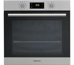 HOTPOINT Class 2 SA2 840 P IX Electric Oven - Stainless Steel - £251.10 - £151.10 after cashback + quidco at Currys