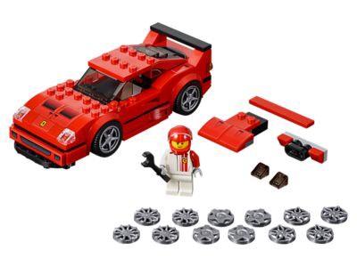 LEGO 75890 Speed Champions Ferrari F40 Competizione Building Kit £8.44 (Prime) / £12.93 (non Prime) Amazon