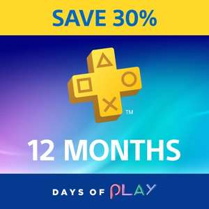PlayStation Plus 12 Month Subscription £29.99 @ Playstation Store (with CDKeys PSN credit)