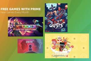 Free Games June 2019 (Aegis Defenders , Stikbold!, 10 Second Ninja X & Metronomicon) @ Twitch Prime