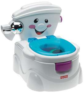Fisher-Price P4324 My Potty Friend, Kids Toilet Training Seat with Sounds, Songs and Phrases - £25.89 @ Amazon