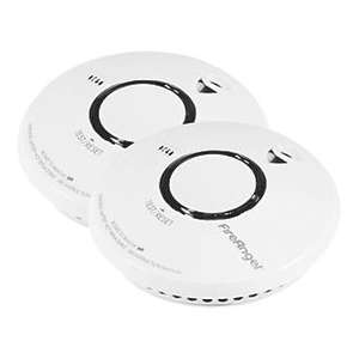 10 Year Thermally Enhanced Optical Smoke Alarm 2 Pack @ Screwfix Free C&C £17.16