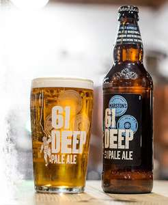 Free bottle 61 Deep Beer for two @ Marston Brewery