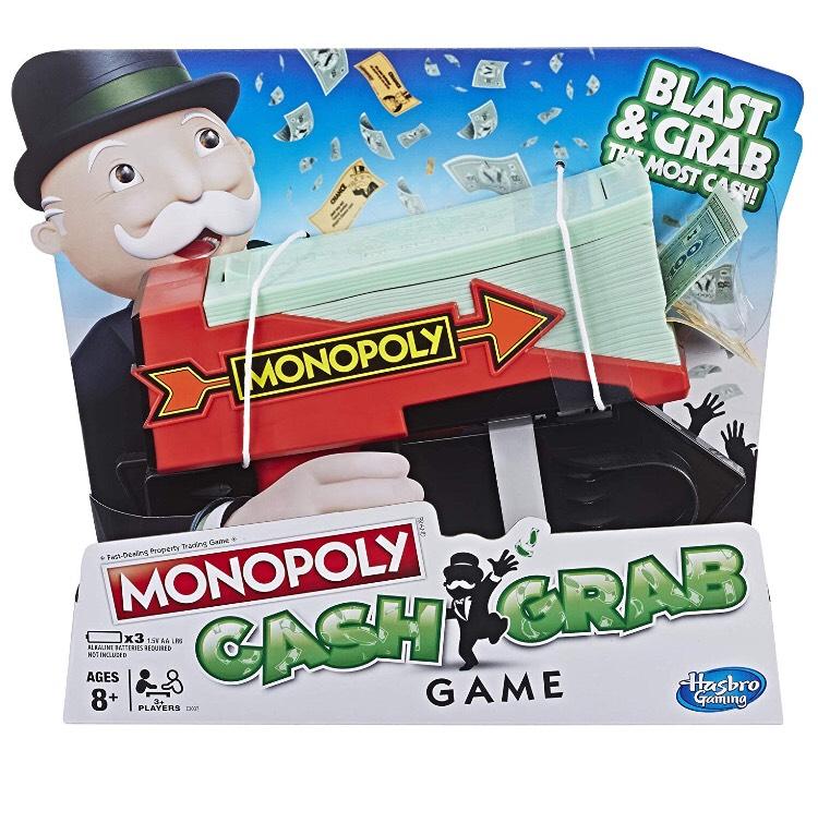Monopoly Cash Grab Game - £14.99 (Free C+C) @ Smyths