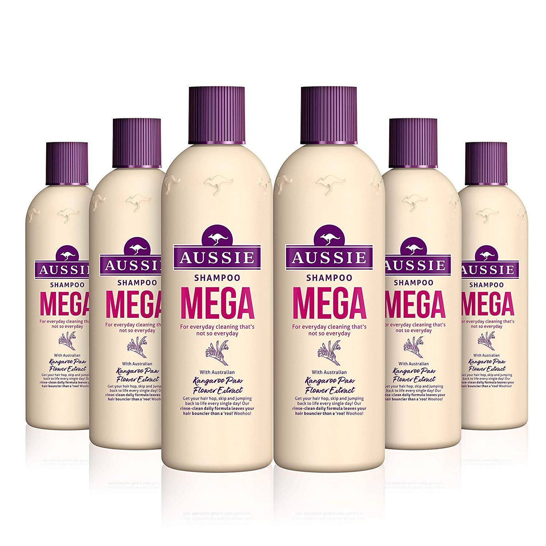 Aussie Mega Shampoo 300ml Pack of 6 £6.61 Amazon (+£4.49 np)