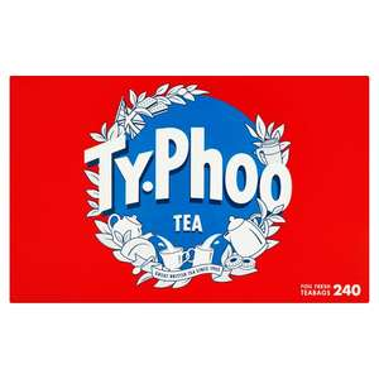 Typhoo 240 Teabags 696G £2.50 / Kenco Millicano Americano Coffee 100G £2.35 / J20 Spritz Watermelon 6X275ml £3.00 (From 5th June) @ Tesco