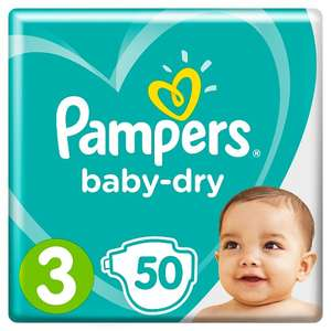 Half price Pampers Nappies - Various Baby Dry Essentials Packs - £4 @ Tesco (from 05/06)