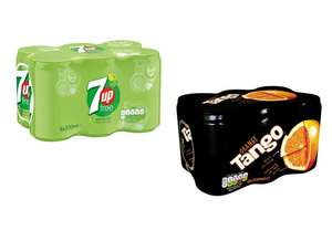 Half price Tango or 7 Up Diet 330ml x 6 pack for £1.59 @ Tesco (from 05/06)