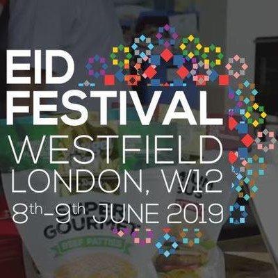 EID CELEBRATIONS  8TH-9TH JUNE 2019 WESTFIELD LONDON, W12