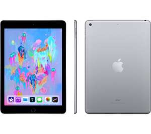 "APPLE 9.7"" iPad (2018) - 32 GB, Space Grey & apple pen £374 (+£50 trade in for old tablet) @ currys/pc world"