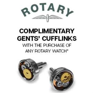 Rotary watches from £71.99 at H.Samuel + Free pair of cufflinks + Possible Quidco / TCB
