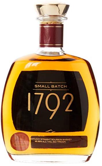 1792 Small Batch Bourbon Whiskey 75cl £29.80 Amazon