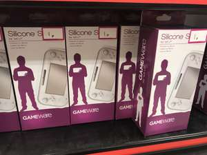 Gameware Silicone Skin for Wii U, 1p instore at Game