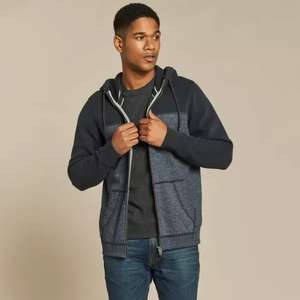 Fat Face - Men's grey zip-up hood with side pockets - Free C&C £18 @ Fat Face