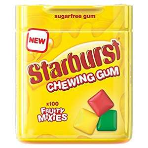 Starburst Chewing Gum 100 pieces 50p price instore @ Asda Aberdeen