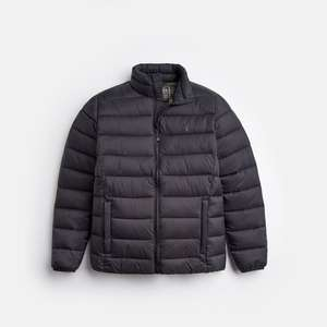 Joules - Men's Black Lightweight Quilted Jacket - Size M - £29.95 Free C&C