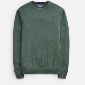 Joules - Men's Jarvis Cotton Crew Neck Jumper - Size Small & XXL - £19.95 Free C&C