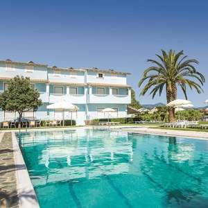 From East Mids: School Holidays 26 July 1 Week Family of 4 to Corfu Palm Grove Apartments in Sidari £1176 @ Jet2Holidays