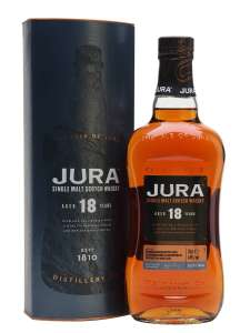 Jura 18 Years Old Whisky 70cl £52.19 amazon deal of the day
